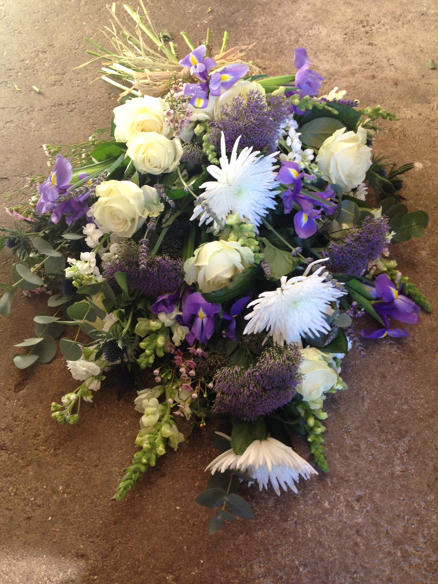 Funeral tied sheaf, prices from £65