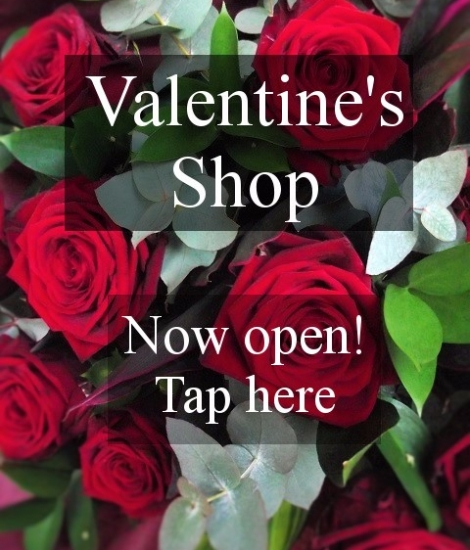 Valentine's Shop now open