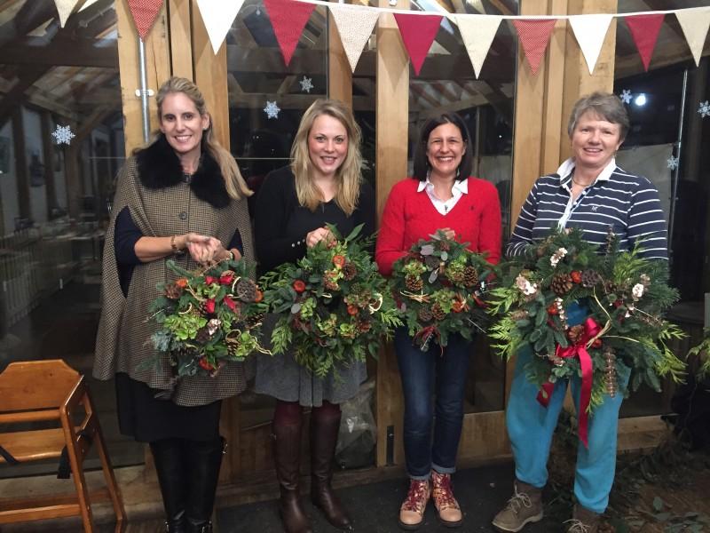 Christmas wreath, bradford-on-avon