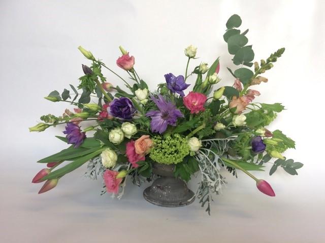 compote flower  arrangement