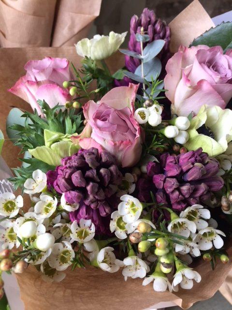 Wiltshire, wedding florist.