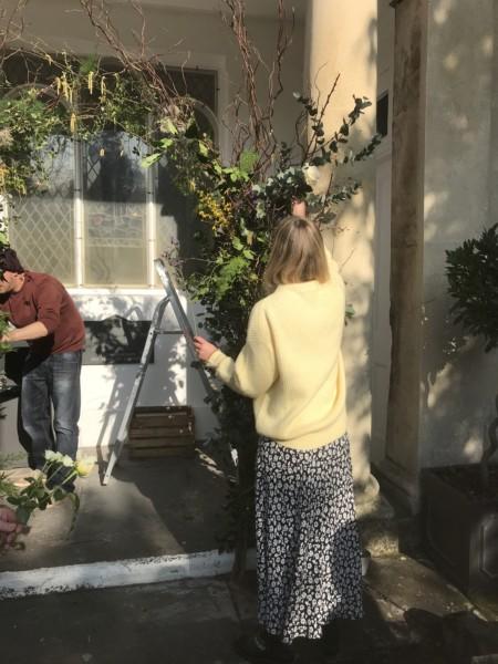 Bath, floral workshops